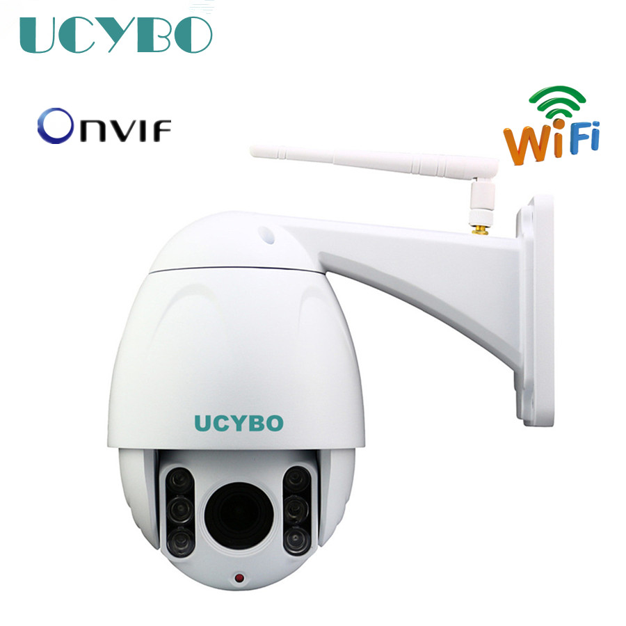 cctv video surveillance ip camera wireless wifi 1080p hd ptz pan tilt 4x zoom IR outdoor speed dome network security ip cameras 4 in 1 ir high speed dome camera ahd tvi cvi cvbs 1080p output ir night vision 150m ptz dome camera with wiper