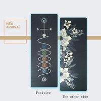Yoga towel, silicone yoga, body position, rubber mat, anti slip yoga mat