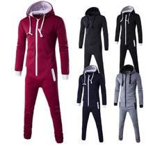 motion piece men zipper cardigan Hoodie Black Blue Pyjamas One Piece Sleepwear Adult Onesie Women Men Costume Winter Cosplay
