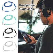 цена на 4 Colors Microphone Cable Headphone Audio Cable For Bose Soundtrue Ear With Mic QC35 QC25 OE2 Cable Headphone Audio Portable