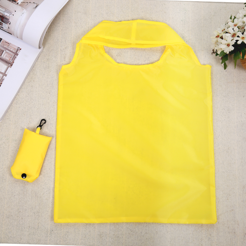 Portable Folding Shopping Bag Large Nylon Bags Thick Bag Foldable Waterproof Ripstop Shoulder Bag Handbag Free Shipping