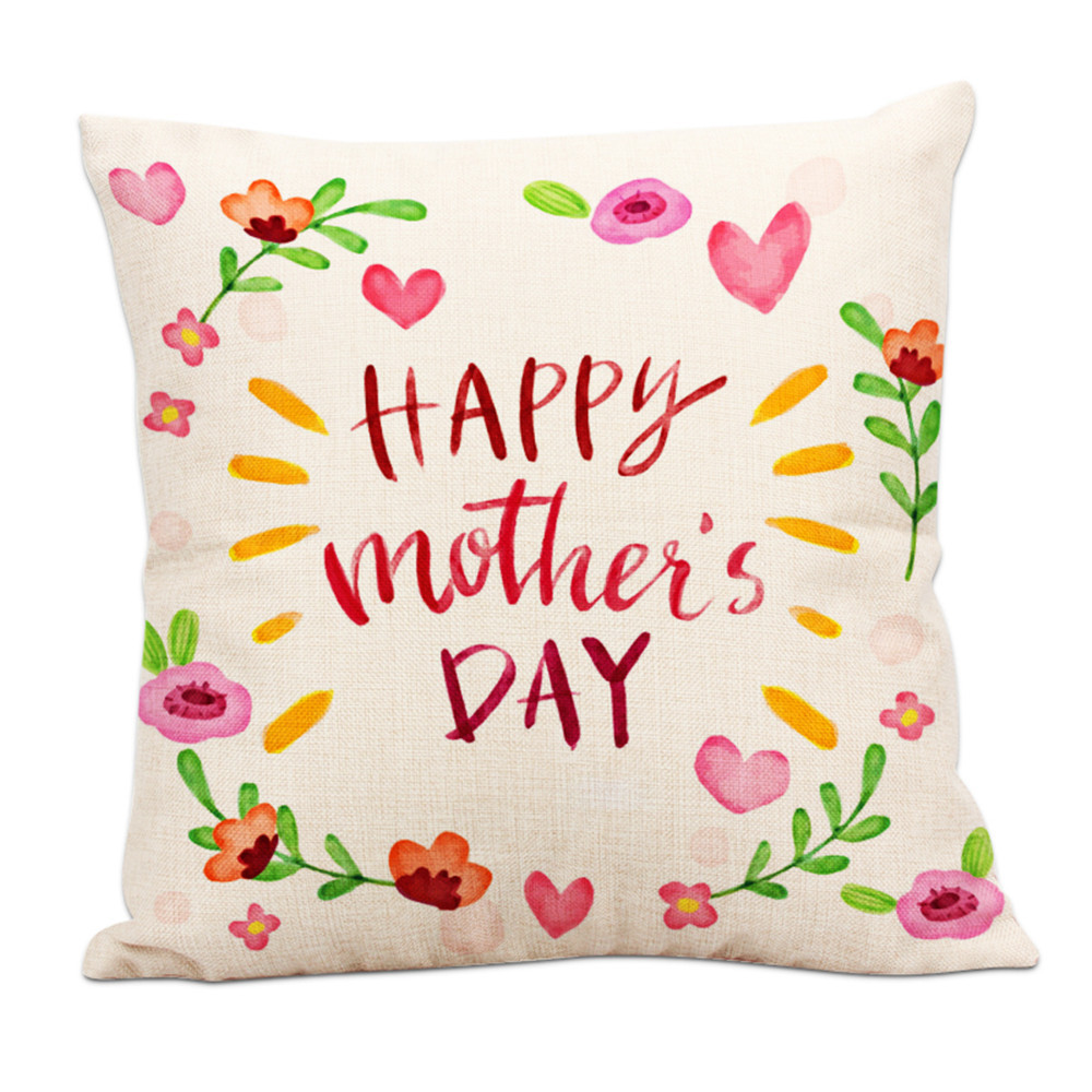 2018 New Arrival Fashion Home Cushion Happy Mother's Day