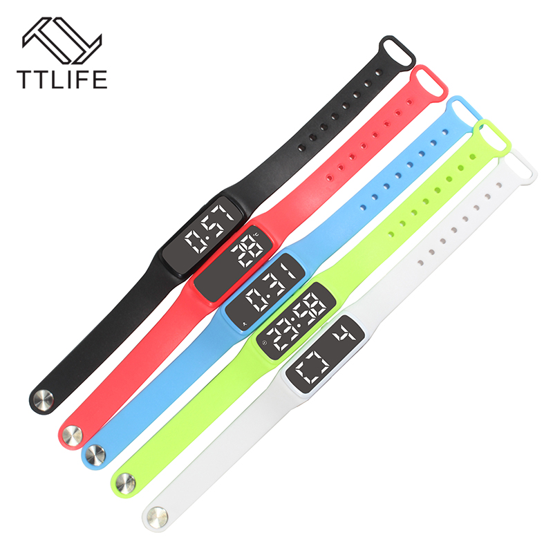 TTLIFE CD5 Smart Bracelet Fitness Tracker Smart Watch Accurate 3D Pedometer Smart Wristband Temperature Sleep Monitor