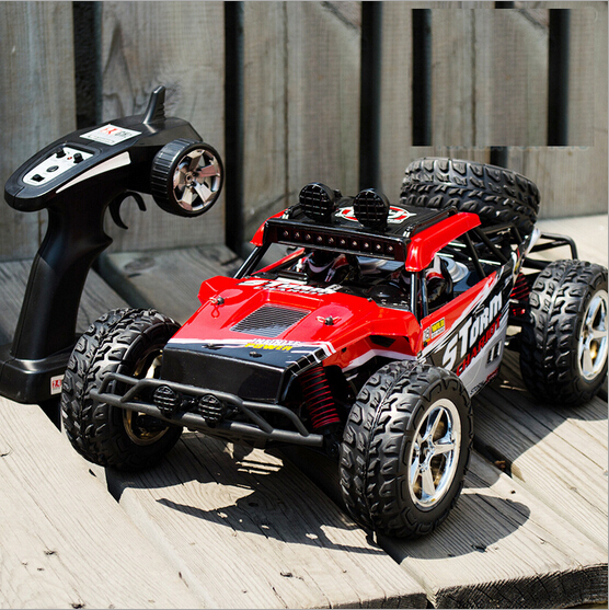 RC-raceauto BG15131: 12 1/12 Offroad 2.4G hoge snelheid RC Drift Auto in radiobesturing Toy Waterdichte Monster Truck Truggy-auto