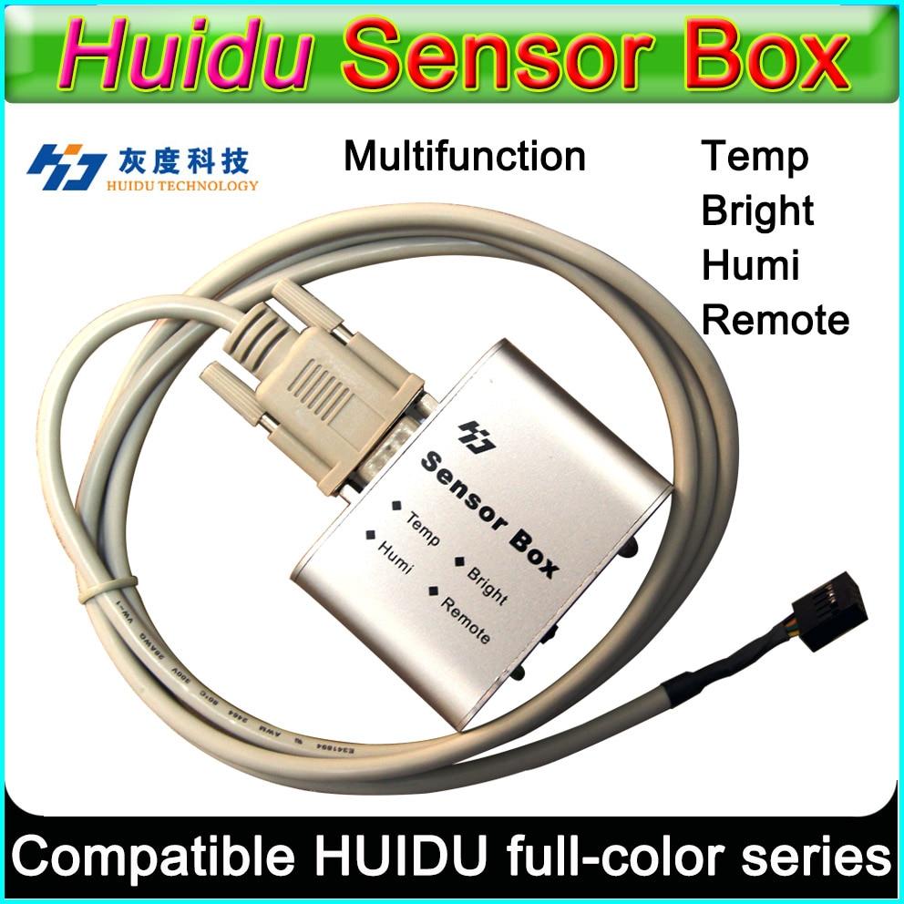 HD RGB Full Color Function Sensor Box Support IR,Temperature/Humidity,Brightness Sensor Work With HD-D10/D20/D30/C10/C30/A30