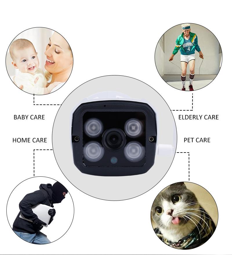 компания Lenovo открытый водонепроницаемый ИС 1080 р камера беспроводной беспроводной камеры сто widows видеонаблюдения карты памяти камера Нет доказательства
