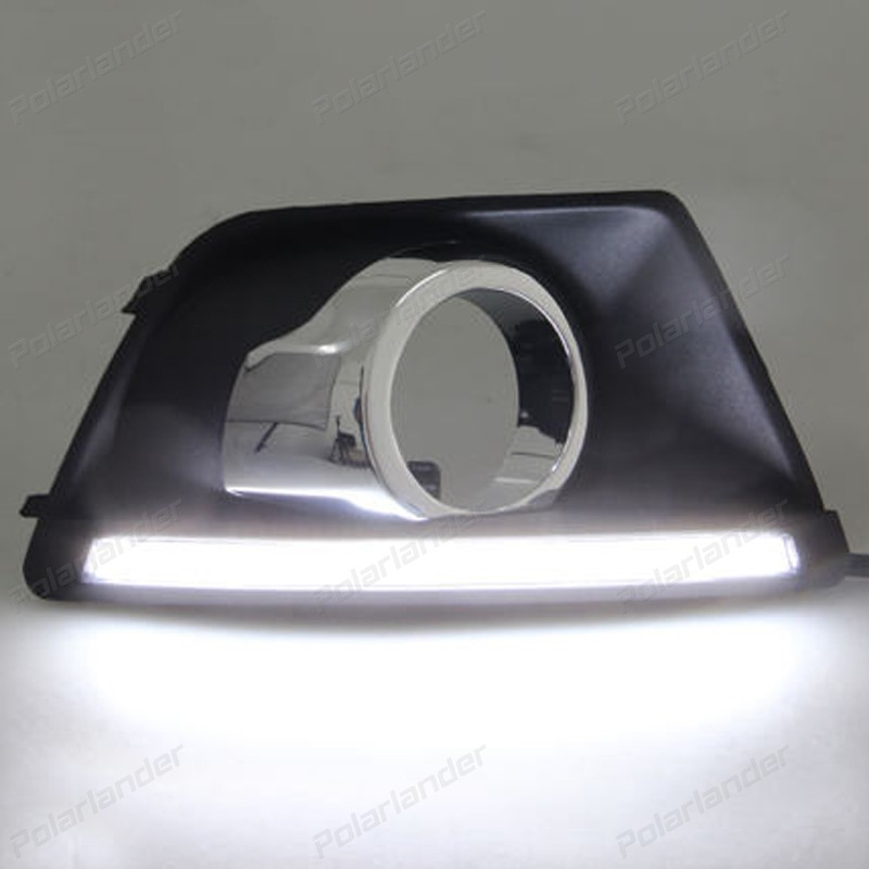 цены  Daytime running lights Car styling for F/ord e/co s/port 2013-2015 with turn signal