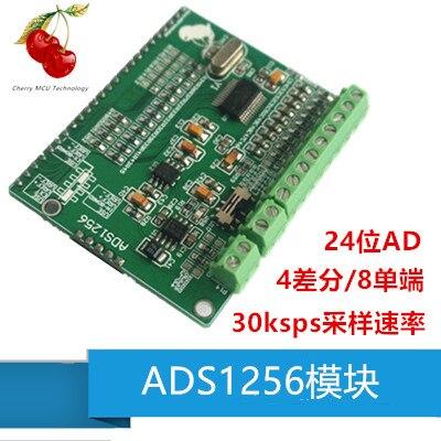 Module ADS1256 module ADC 24 bits carte d'acquisition de données d'acquisition ADC de haute précision