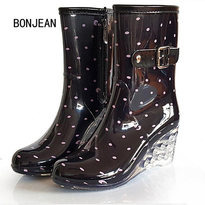 Online Get Cheap Wedge Rain Boots -Aliexpress.com | Alibaba Group