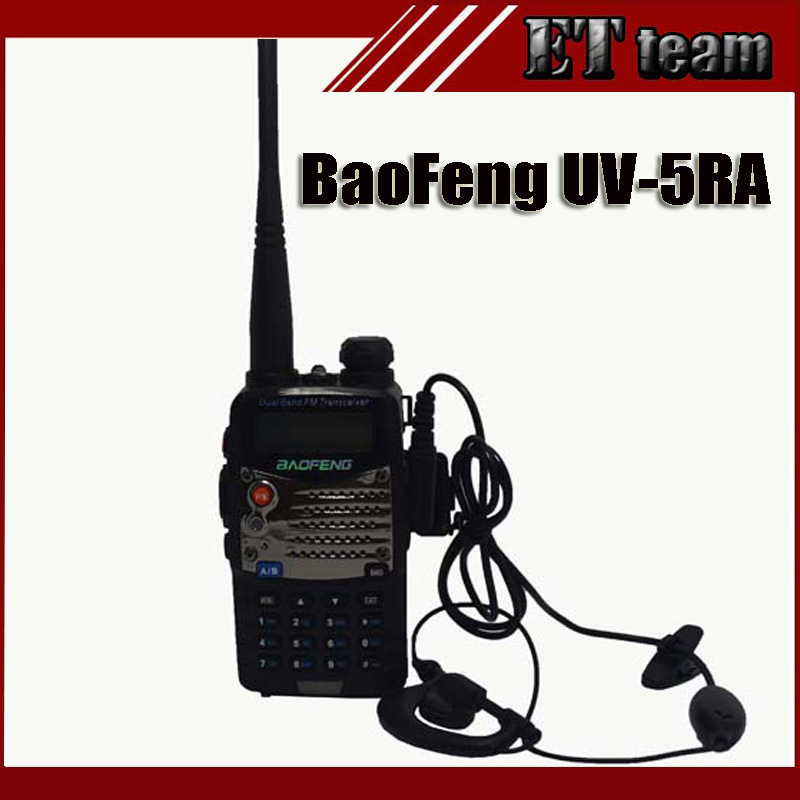 bilder für BaoFeng UV-5RA uv 5ra Tragbares Radio two way radio Walkie Talkie 5 Watt vhf uhf dual band Dual Display zwei-wege-radio-Communicator
