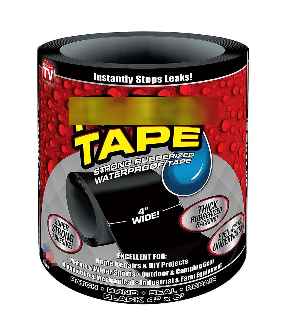 1.52m Super Strong Fiber Waterproof Tape Stop Leak Seal Repair Tape Performance Self Tape Fiberfix Adhesive Tape PE tube PVC etc
