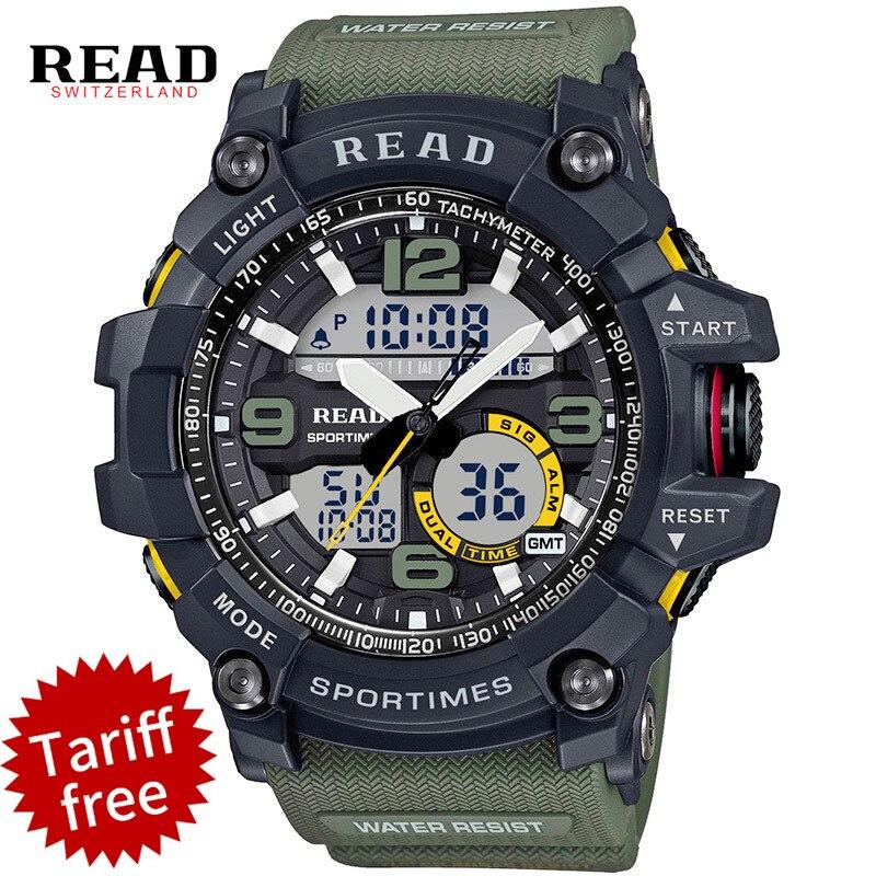 read men top stopwatch sport clock alarm army military quartz men wrist watches large dial. Black Bedroom Furniture Sets. Home Design Ideas