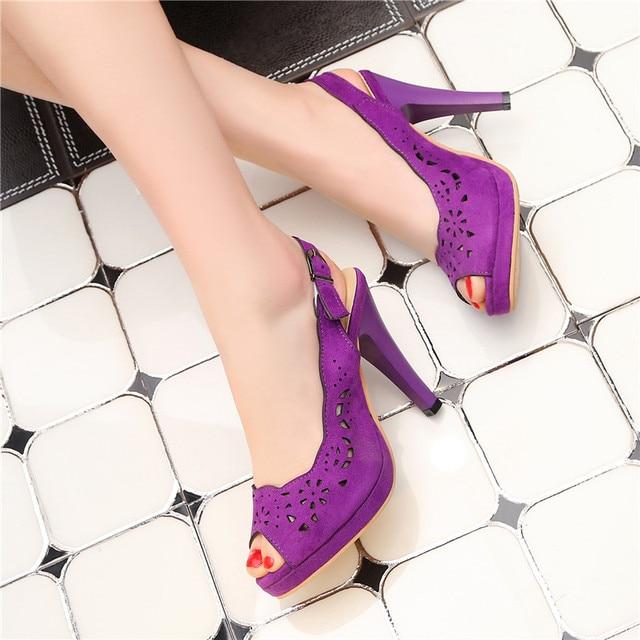 MEMUNIA 2018 fashion summer super high heel women sandals