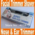 Free Shipping wholesale free shipping electric Nose Ear Hair Facial Trimmer Shaver Clipper Cleaner mens boys