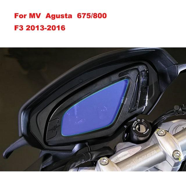 for MV AGUSTA BRUTALE 800 ABS BRUTALE 675 Film Speedometer Speedo Screen Cluster Scratch Protection Instrument Dashboard Shield
