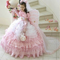 Don's Bridal High Neck Kids Prom Gowns 2016 Customize Cute Tiered Party Dress Kid/children Ball Gown Flower Girl Dresses