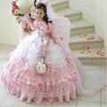 Don's Gola Alta De Noiva Crianças Prom Vestidos 2016 Personalizar Bonito Em Camadas Vestido Do Partido do Miúdo/crianças Flor Vestido De Baile Vestidos da menina