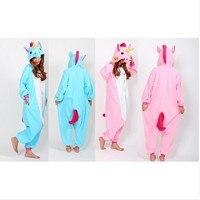 Free Pp Unisex Adult Onesie Sleepwear Unicorn Pajamas Animal Cosplay Costume