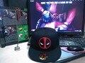 Deadpool Hip Hop Snapback chapéu de beisebol para homens mulheres chapéus Gorras de Hot 2016 nova moda Casual frete grátis