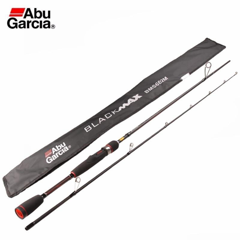 Lure Casting-Fishing-Stick Baitcasting Abu Garcia Power-Carbon Rod-M Brand MAX Black