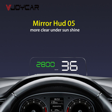 OBD HUD Mirror C500 Car Head up Display Digital Speedometer Projector Security Alarm Water Temp RPM Overspeed Volt PK GPS T900 p10 hud obd gps computer car speed projector digital speedometer display smart meter rpm fuel temperature head up display