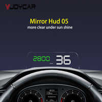 OBD HUD Spiegel C500 Auto Head up Display Digital Tacho Projektor Sicherheit Alarm Wasser Temp RPM Überdrehzahl Volt PK GPS t900