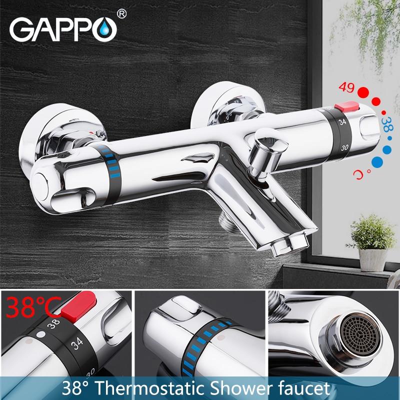 GAPPO bathtub faucet thermostatic mixer faucet bathroom mixer tap bath faucets Waterfall taps bath bath set