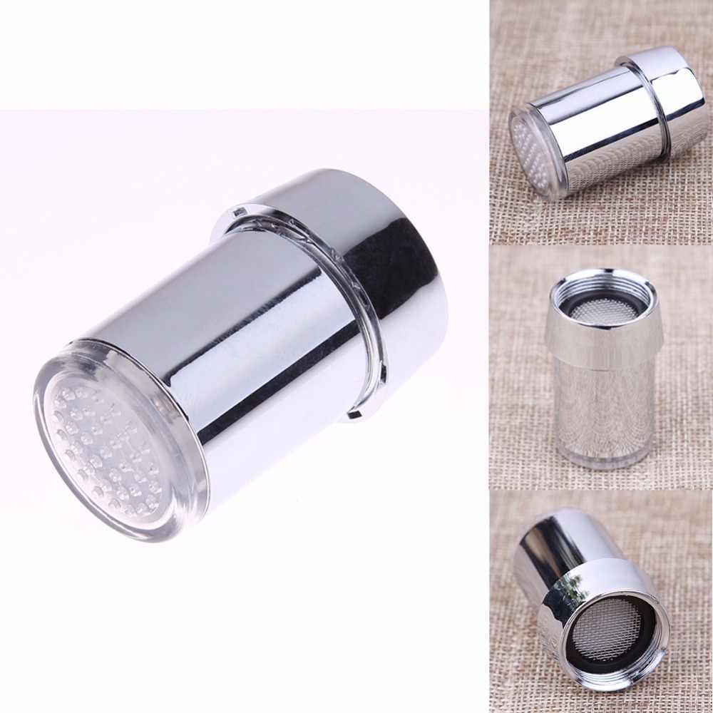 1 pc M24 水蛇口タップ温度センサーの色の変更 Abs キッチン浴室の蛇口アクセサリーツールノズル