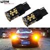 IJDM 4 Canbus Error Free 7440 LED No Hyper Flash 21W Amber Yellow W21W T20 LED