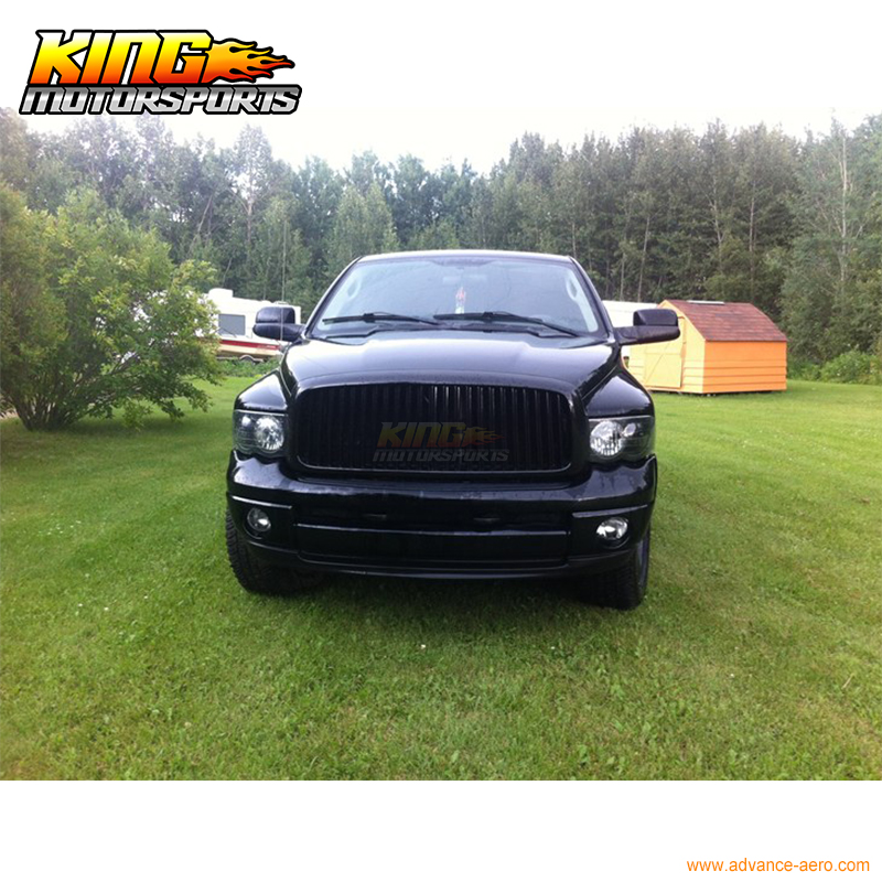 For 94-02 Dodge Ram Black Vertical Front Hood Grille Grill USA Domestic Free Shipping Hot Selling for 2004 2008 ford f150 chrome vertical front hood grill grille usa domestic free shipping hot selling