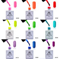 1 bottle10ml Born Pretty Candy Colors Nail Gel Polish Matt Nail UV Gel Soak Off UV Builder Nail Polish Varnish Nail Art