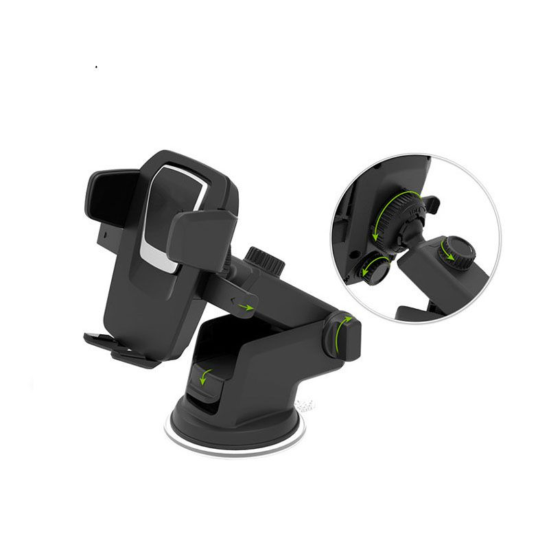 Universal Car Phone Holder smartphone accessories mount stand soporte celular para auto dashboard suction windshield glass windshield dashboard car holder phone stand with sucker adjustable easy installation