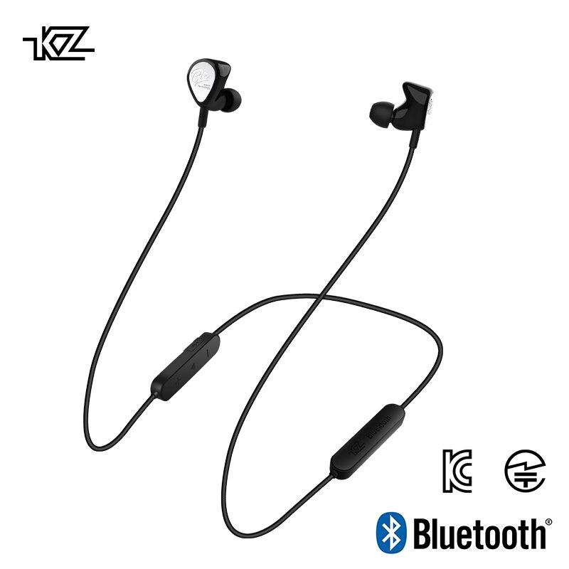 KZ BTE 1DD+1BA APTX Headset Sports Bluetooth Earphone/Wireless Headset HIFI Bass Earbuds for phones and music