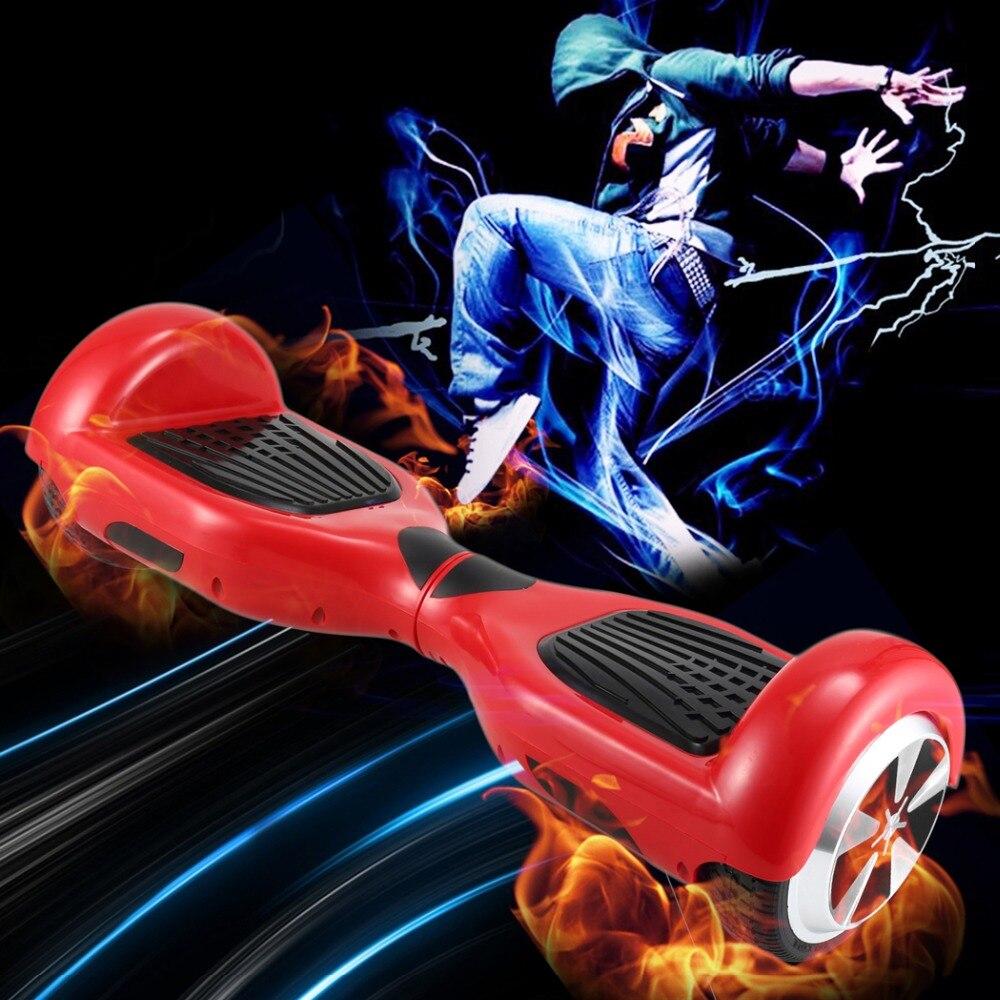 6.5 pouces Hoverboard Planche À Roulettes trottinette électrique 2 Roues Électrique Auto-Équilibrage Intelligent scooter à dérive Avec led planche de skate