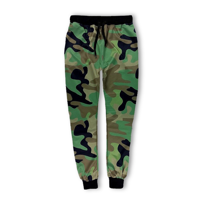 Casual Pants Men Fitness Trousers Fashion Harajuku Hip Hop Style Army Camouflage Sweatpants Joggers Sweat Harem Tracksuit Unisex