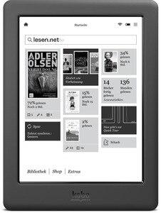 300ppi Kobo Glo HD electronic book e-ink 6 inch eBook Ereader N437 HD screen 1448x1072 e-books Reader 4GB WIFI(China)