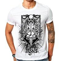 Print Tee Shirts Gildan Design O Neck Short Sleeve Lamb Of God Heavy Metal T Shirt