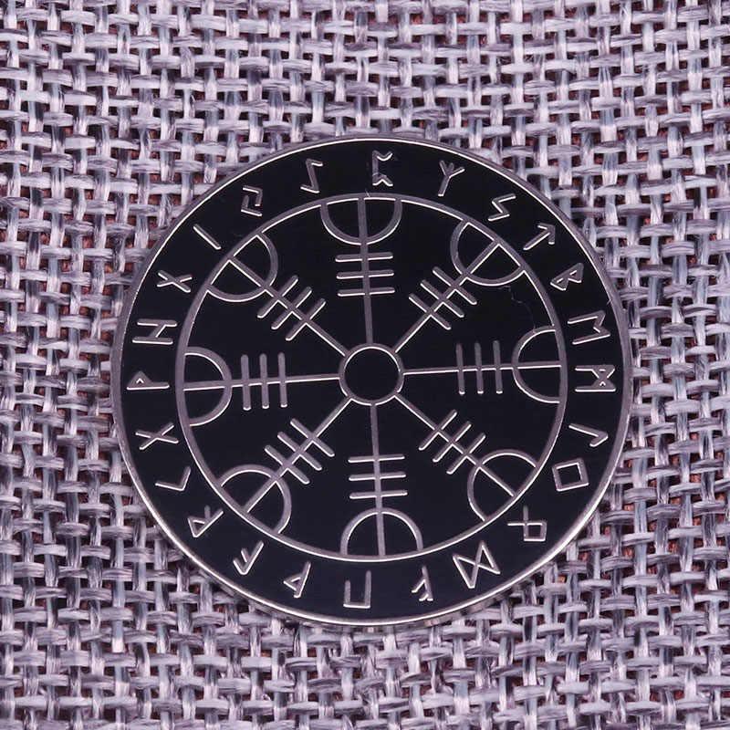 Fortune telling Divinazione da scandinavo rune Vichingo Bussola Norvegesi rune Spille