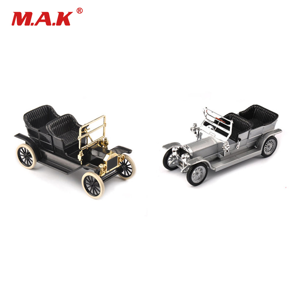 1:43 Scale Classic Diecast Car Model Silver/ Black Color 1/43 1923 Alloy Diecast Car Convertible Vehicles Car Model Kids Toy 1 43 luxury car model audi rs5 coupe diecast model car 3 colors classic toys car replica
