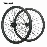 29ER MTB колесной углерода спуск колесо 40 мм широкий довод hookless Бескамерная Совместимость treck велосипед компонент DH вниз Хилл велосипеды