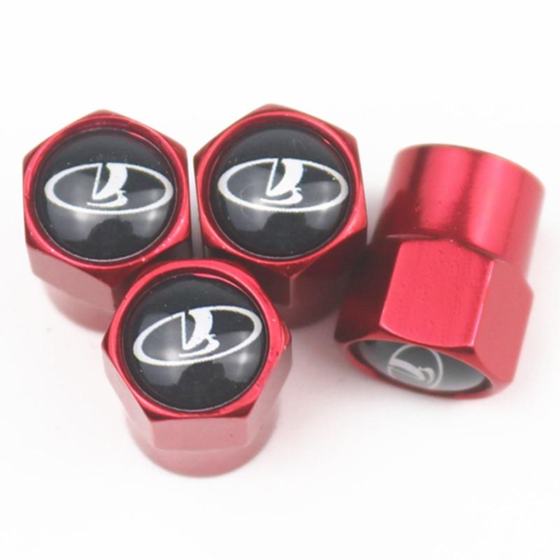 Excellent 4pcs/set New Car Tire Valve Caps For Lada Niva Kalina Priora Granta Largus Vaz Samara 2110 Auto Motorcycle Wheel