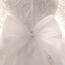 Lace Embroidery Baby Girl Baptism Dresses