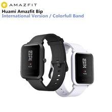 Huami Amazfit Смарт-часы xiaomi smartwatch Bip немного лицо gps Фитнес таккера сердечного ритма IP68 Водонепроницаемый поддержка Прямая доставка