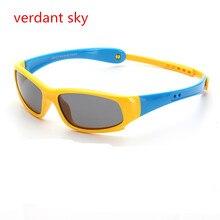 2017 Uv400 New Cute Baby Polarized Sunglasses Kids Child Girls Boys Goggles TR90 Polaroid Sun Glasses Shades Infant