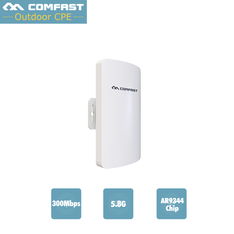 все цены на  Comfast Wireless outdoor router WIFI 5G wireless-n 300M WIFI signal booster Amplifier Network Antenna outdoor wifi access point  онлайн