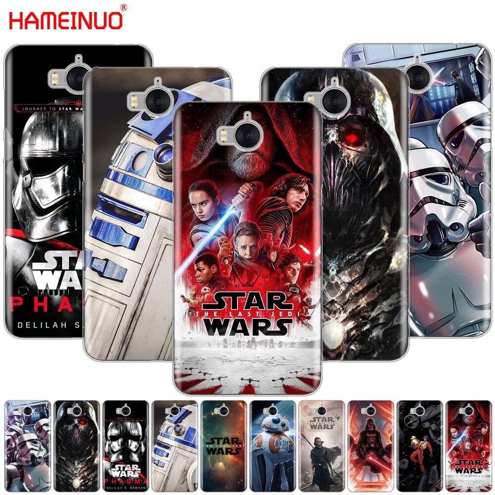 Hameinuo Звездные войны BB8 r2d2 Дарт Вейдер солдат Телефон чехол для <font><b>Huawei</b></font> <font><b>Honor</b></font> 3C 4A 4x 4c 5&#215;6 7 8 y6 Y5 2 II Y560 Y7 2017