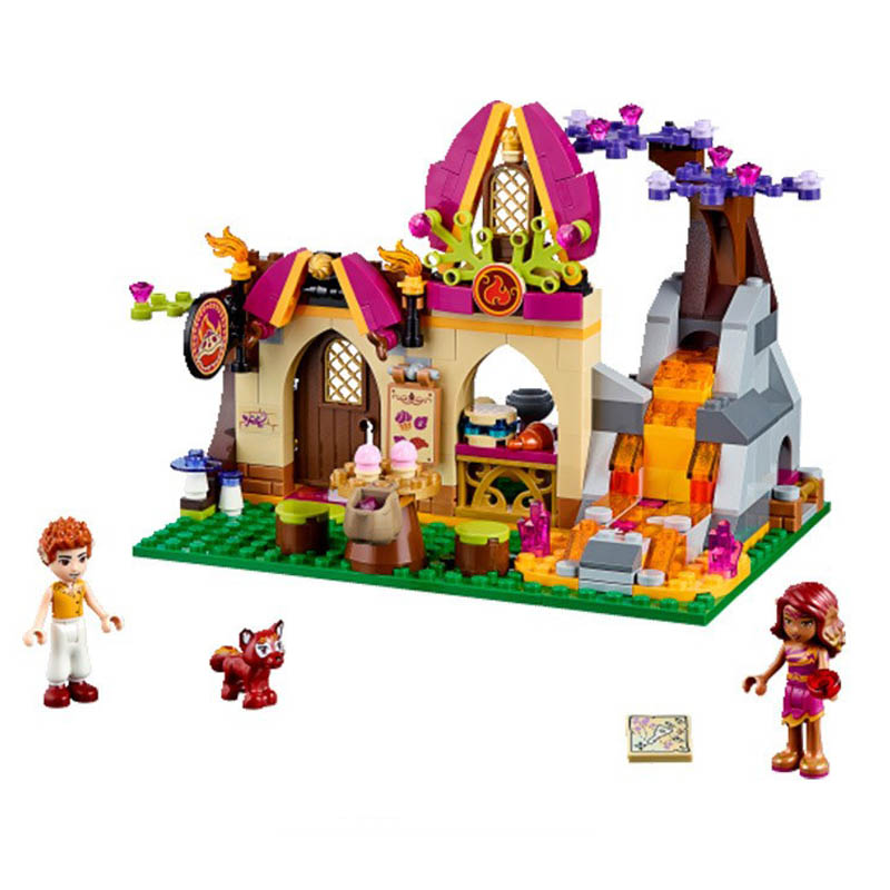 Lepin 41074 Bela 10412 Pogo Elves Azari and the Magical Bakery Girls Building Blocks Bricks Compatible Legoe Toys hot nuevo 10415 elfos azari aira naida emily jones cielo fortaleza castillo building block toys