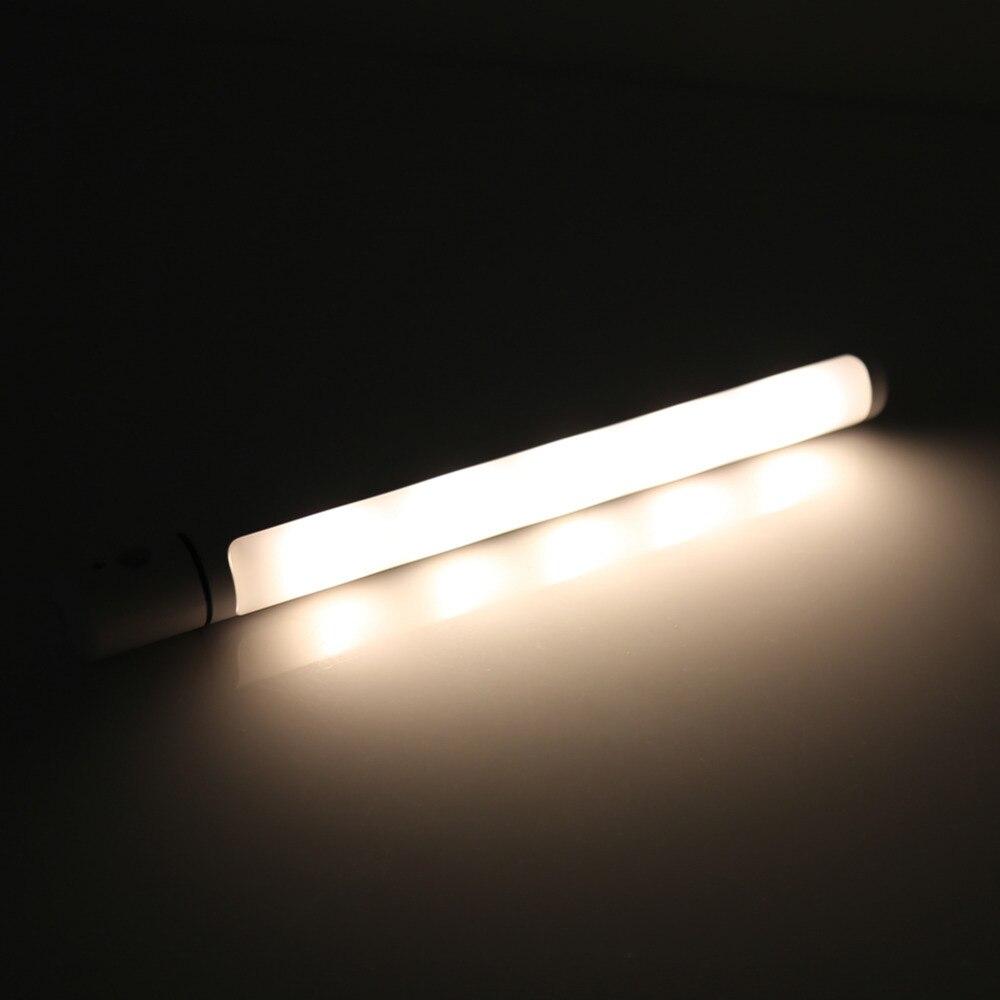 Gloednieuwe PIR Bewegingssensor LED Gedraaid Nachtlampje Indoor ...