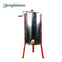 Оборудование для пчеловодства/инструменты ручной нержавеющей стали 3 рамки мед центрифужная машина/медовая экстрактор с тремя красными но