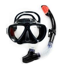 Plongée sous-marine professionnelle set date Gopro caméra masque de plongée avec tuba sec Xiaomi Masque amovible caméra plongée masque top engrenages